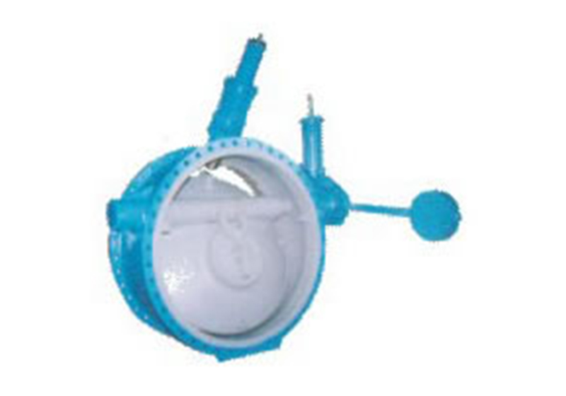 Double Discs Butterfly Type Buffering Non-return Valve(HX47)