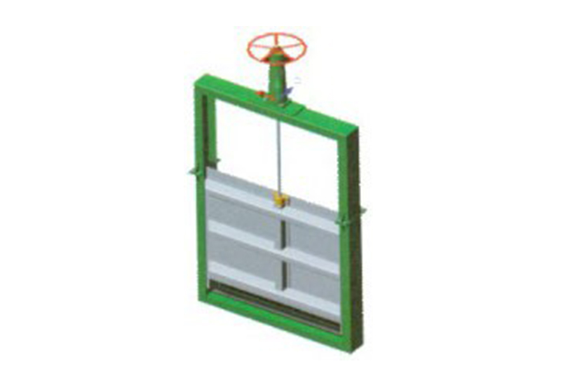 Super-light Type Sliuce Gate (Channel Sluice Gate)(QDFZ)
