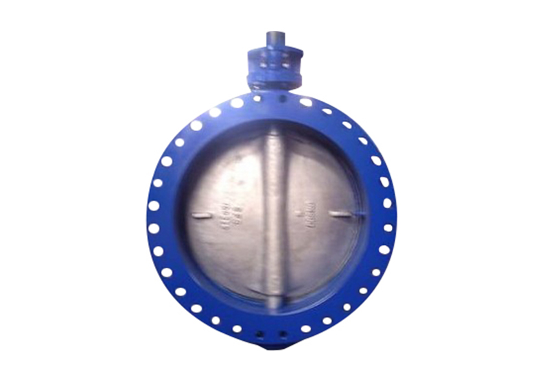 Center line-type butterfly valve9